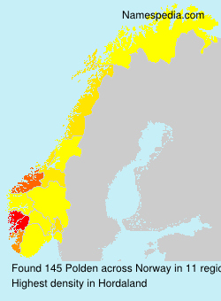Surname Polden in Norway