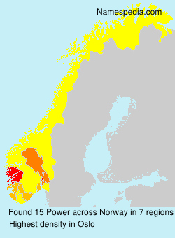Surname Power in Norway