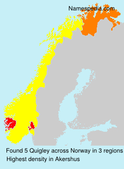Surname Quigley in Norway