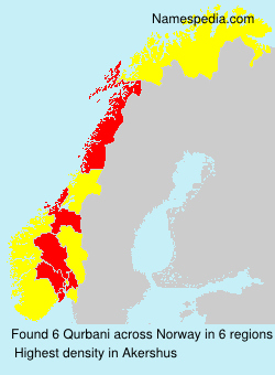 Surname Qurbani in Norway