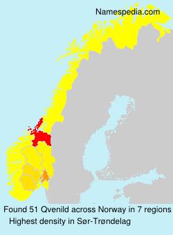 Familiennamen Qvenild - Norway