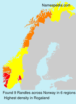 Surname Randles in Norway