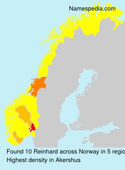 Surname Reinhard in Norway