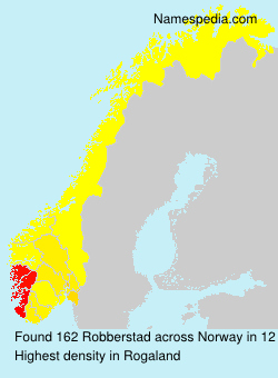 Surname Robberstad in Norway