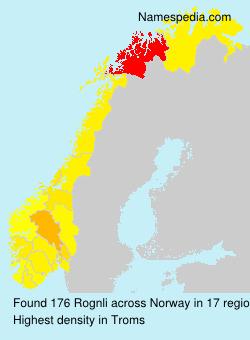 Familiennamen Rognli - Norway