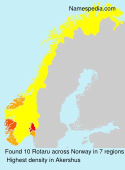 Familiennamen Rotaru - Norway