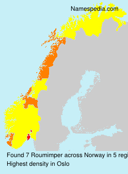 Surname Roumimper in Norway