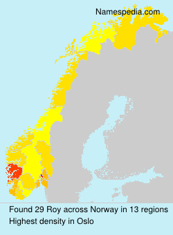 Surname Roy in Norway