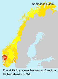 Surname Roy in Norway