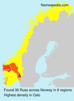 Familiennamen Russ - Norway