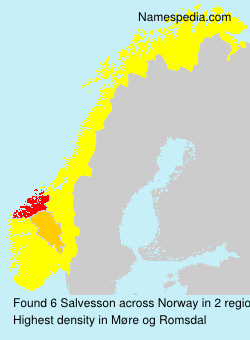 Surname Salvesson in Norway