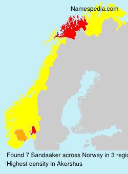 Sandaaker - Norway