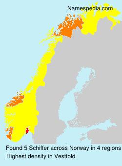 Surname Schiffer in Norway