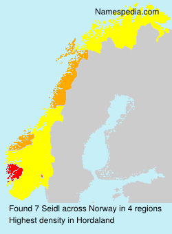 Surname Seidl in Norway