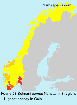 Surname Selmani in Norway
