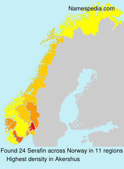 Surname Serafin in Norway
