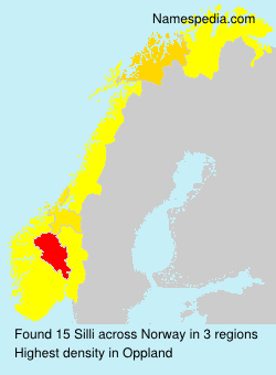 Surname Silli in Norway