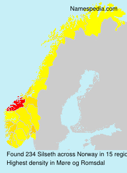 Surname Silseth in Norway
