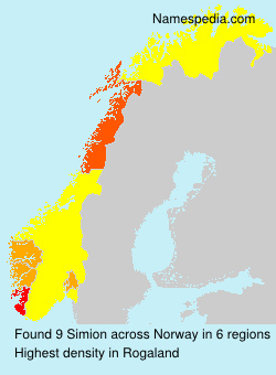Surname Simion in Norway
