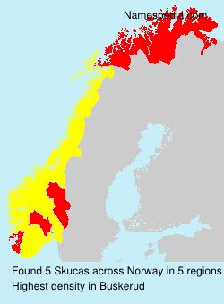 Surname Skucas in Norway