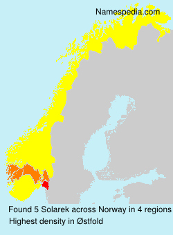 Surname Solarek in Norway