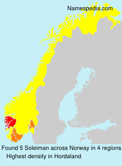 Surname Soleiman in Norway
