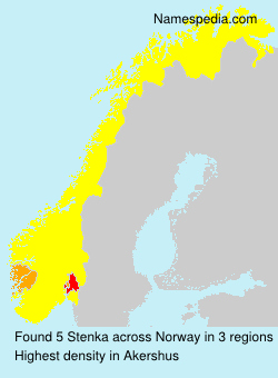 Surname Stenka in Norway