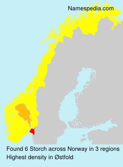 Familiennamen Storch - Norway