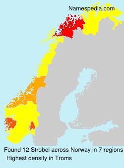 Surname Strobel in Norway