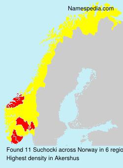 Surname Suchocki in Norway