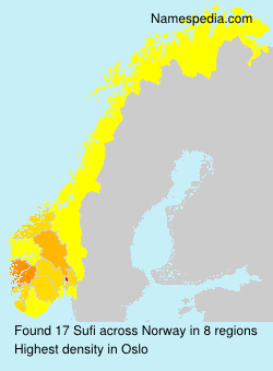 Familiennamen Sufi - Norway