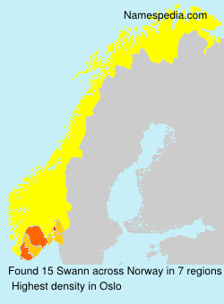Surname Swann in Norway
