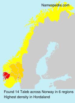 Surname Taleb in Norway