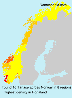 Surname Tanase in Norway