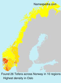 Tefera - Norway