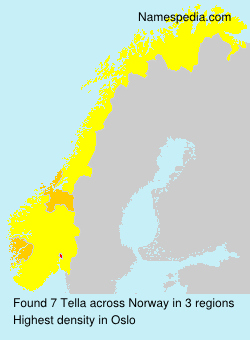 Surname Tella in Norway