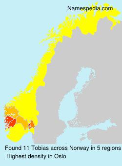 Familiennamen Tobias - Norway