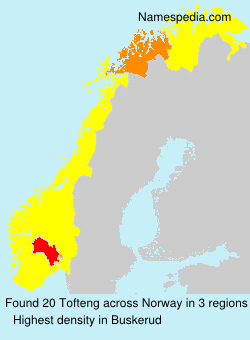 Surname Tofteng in Norway