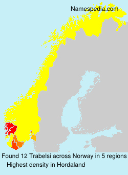Surname Trabelsi in Norway