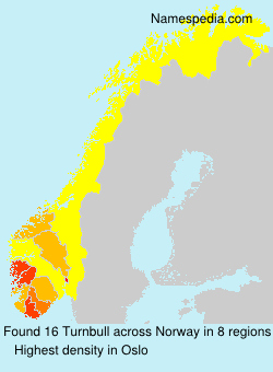 Surname Turnbull in Norway