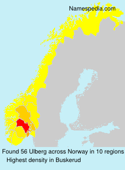 Familiennamen Ulberg - Norway