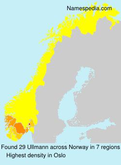 Familiennamen Ullmann - Norway