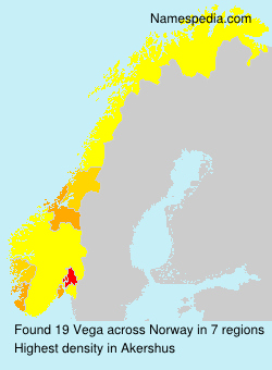 Surname Vega in Norway