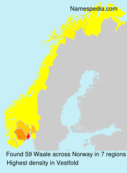 Surname Waale in Norway