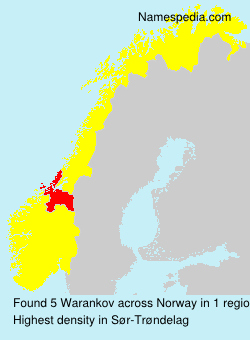 Surname Warankov in Norway