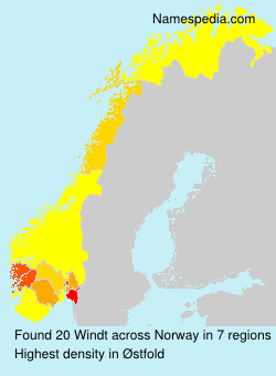 Surname Windt in Norway
