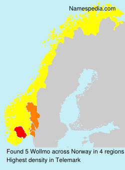 Surname Wollmo in Norway
