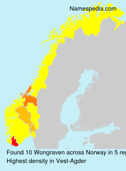 Surname Wongraven in Norway