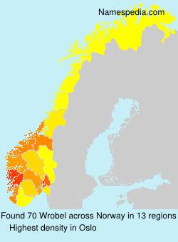 Surname Wrobel in Norway