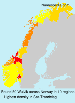 Surname Wulvik in Norway